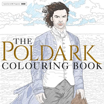 Book cover for The Poldark Colouring Book